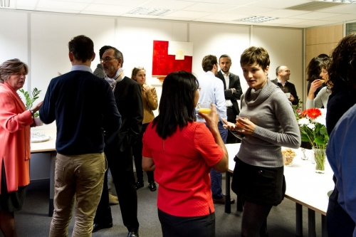 Emergence business center : conviviality among clients