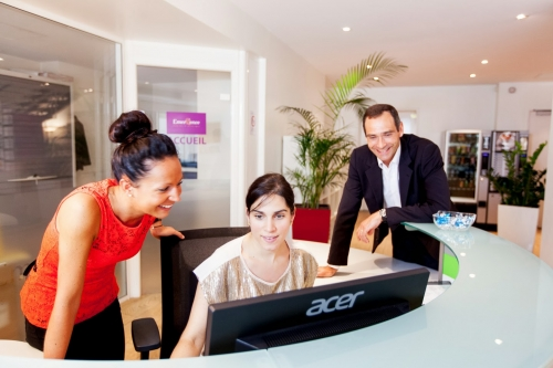 Business center Paris Opera : the team